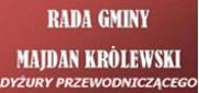 Dyżury Przewodniczącego Rady Gminy Majdan Królewski
